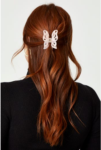 Plus Butterfly Claw Clip