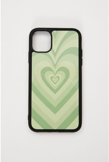 Abstract Heart Phone Cover I Phone 11
