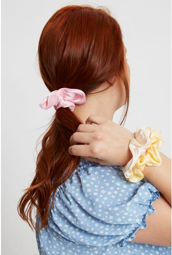 Pleated 3 Pack Scrunchies