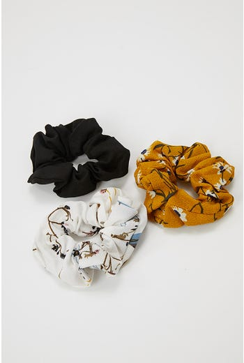 DREAM OF YOU 3 PACK SCRUNCHIES