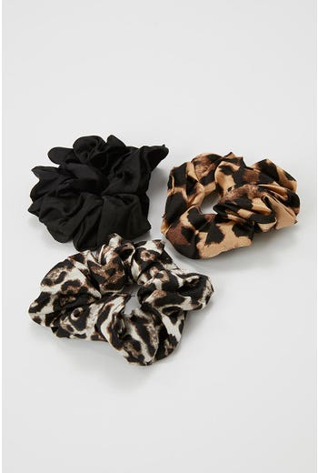 WILD SIDE 3 PACK SCRUNCHIES