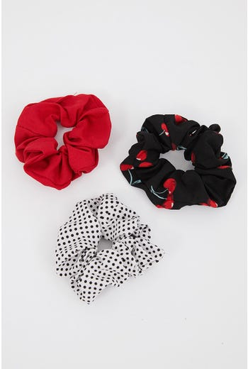 NYLA-ROSE OVER YOU 3 PACK SCRUNCHIES