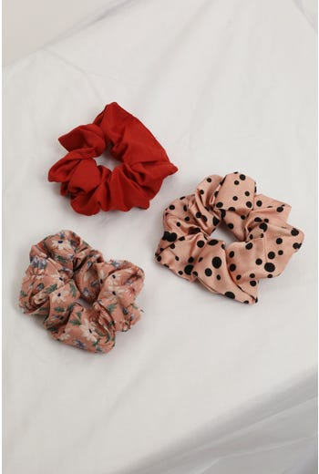 Nyla Rose 3 Pack Scrunchie