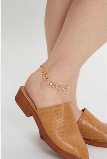 Multi Dangle Anklet