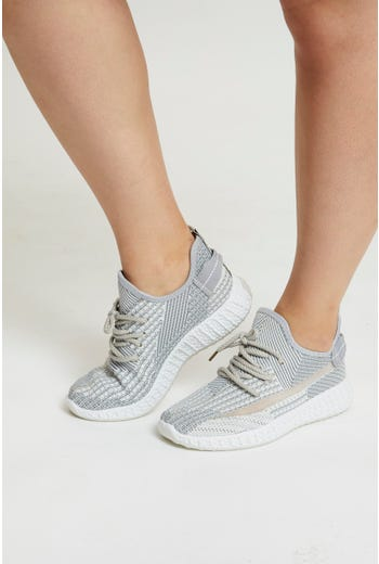 Lace Up Power Mesh Sneaker