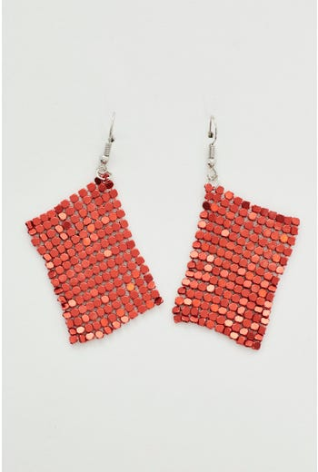 Glomesh Drop Earrings