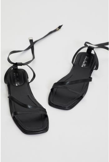 Plus Ankle Strap Sandals