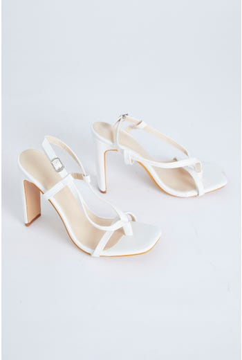 Wrap Up Strappy Heels