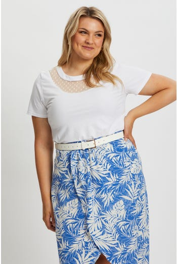 Plus Square Buckle Waist And Hip belt