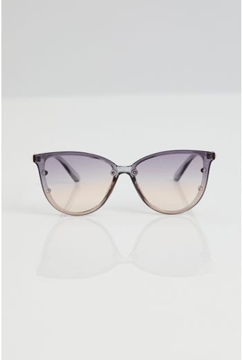 Plus Cat-eye With Leg Detail Sunglasses