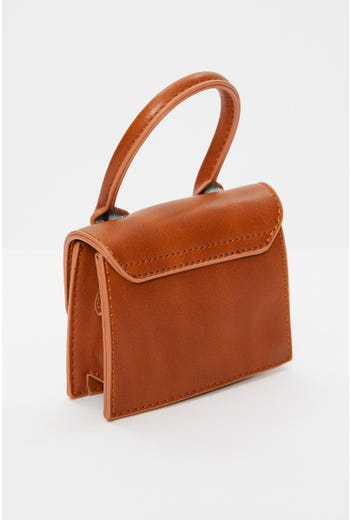 Faux Leather Micro bag