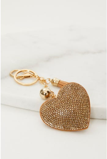 Plus Mothers Day Heart Key Ring On Carding
