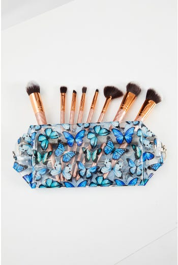 Butterfly Print Make-up Bag