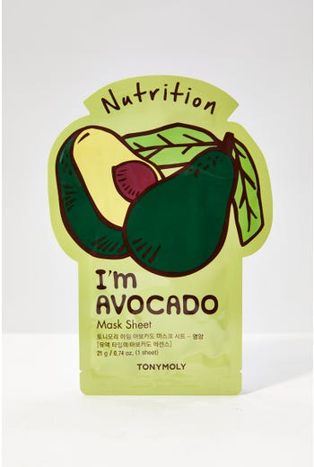 Plus Tonymoly Avocado Nourishing Face Mask Sheet