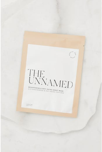 The Unamed Brightening And Anti Aging Sheet Mask