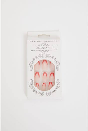 Plus Edge Tip Acrylic Fake nail