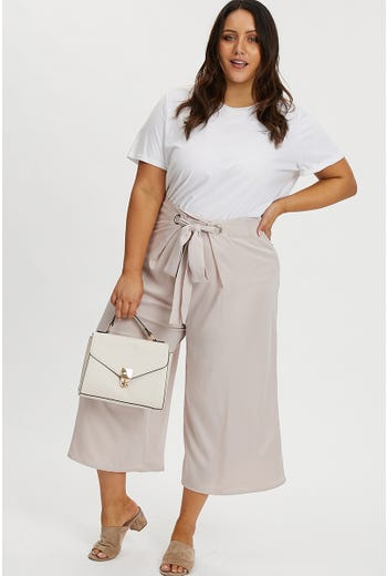 PLUS TESSIE WIDE LEG CULOTTE