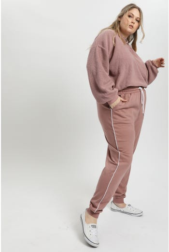Contrast Piping Trackpant