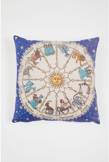 Astrology Print Cushion Cover