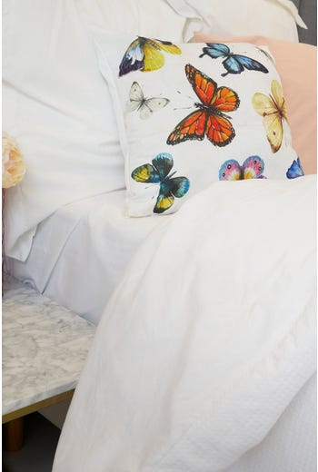 Plus Butterfly Cushion Cover