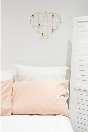 Plus Heart Shape Photo Frame With Fairy Lights