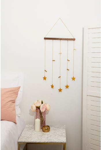 Plus Dangling Stars Photo hanger With Mini Pegs
