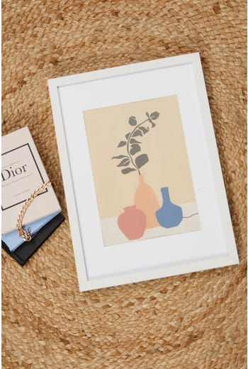 Mixed Vases 30cm by 40cm Poster Print