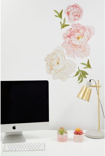 Roses Print Wall Sticker