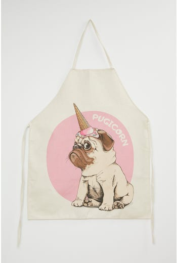 Cute Pugicorn Apron