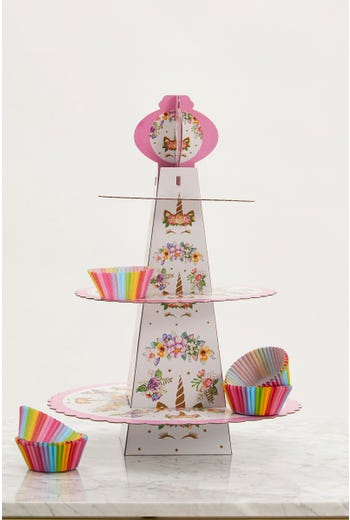 Unicorn Cup Cake Stand