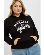 Plus Sunshine and Whiskey Hoodie Sweater