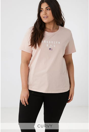 PLUS TEE-BOUTIQUE BROOKLYN TEE