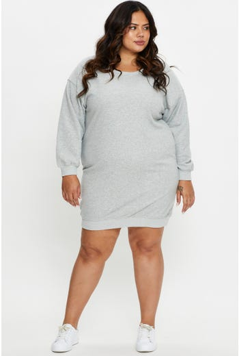 Plus Lounge Sweat Dress
