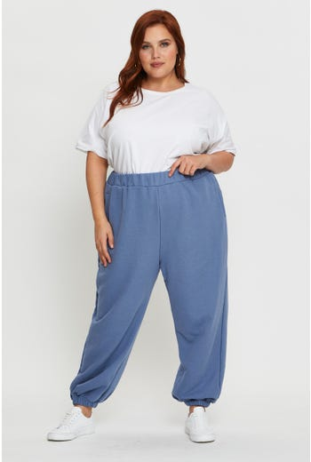 Plus Slouch Track Pants