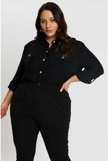 Plus Outpocket Shirt