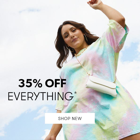 35% Off Sitewide*